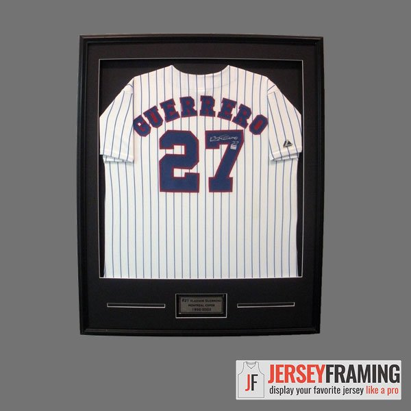 Simple Jersey Frame – Jersey Framing