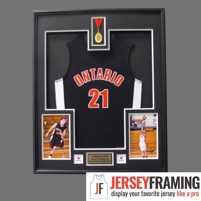 Exelent Basketball Jersey Frame Composition - Framed Art Ideas ...