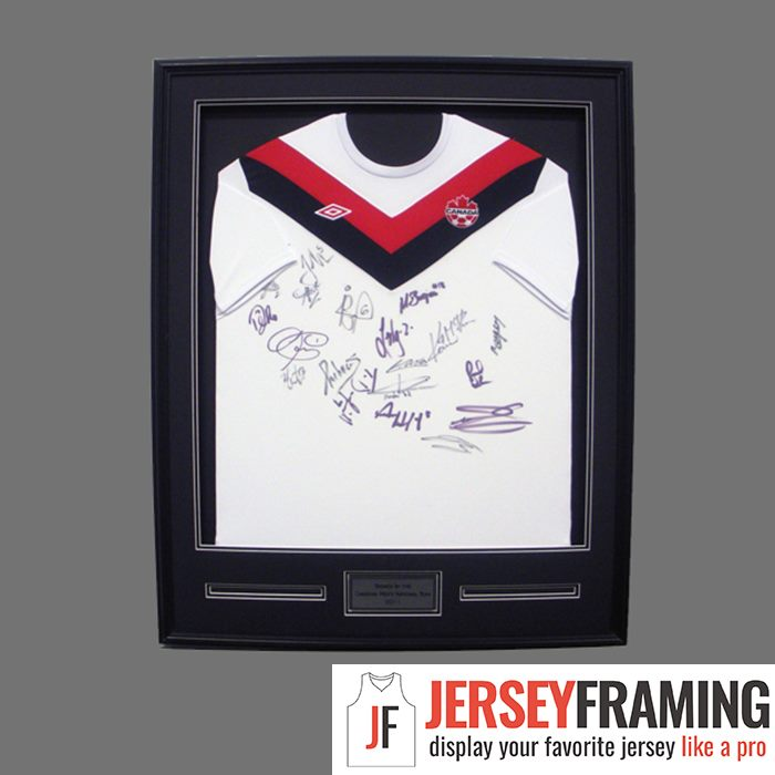 Soccer Jersey Frames, Display Cases and Shadow Boxes | Jersey Framing