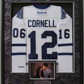 Cornell, Toronto Maple Leafs Deluxe Wedding Frame_Signed