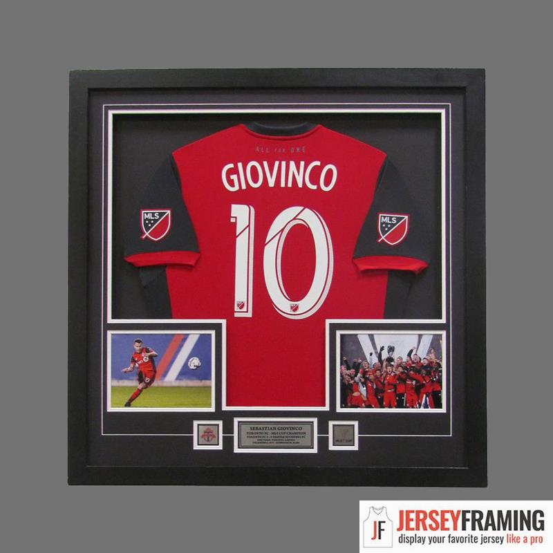 Soccer Jersey Frames Display Cases And Shadow Boxes Jersey Framing